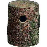 فلامنجو صندوق تعشيش للطيور 17 × 20 سم