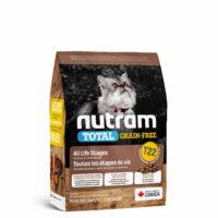 طعام نيوترام T22 الجاف للقطط بمختلف الأعمار 1.13 كغ