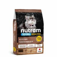 طعام نيوترام T22 الجاف للقطط بمختلف الأعمار 5.4 كغ