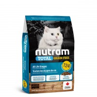 طعام نيوترام T24 الجاف للقطط بمختلف الأعمار