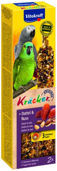 فايتاكرافت مكافآت للببغاوات الأفريقية مع الفاكهة والمكسرات 180 غرام