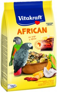 فايتاكرافت الغذاء الصحي للببغاوات الأفريقية 750 غرام