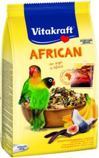 فايتاكرافت الغذاء اليومي للببغاوات الأفريقية الصغيرة وطيور الحب 750 غرام