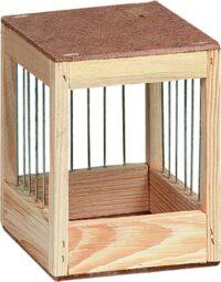 فلامنجو صندوق تعشيش للطيور 13.5 × 12 × 12 سم