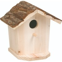 فلامنجو صندوق خشبي لأعشاش الطيور 17 × 13 × 17 سم