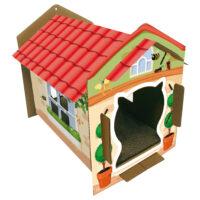 جروتشي منزل فيلا للقطط