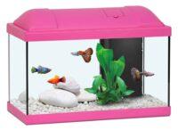 أكوا أتلانتس حوض الأسماك للاطفال لون وردي