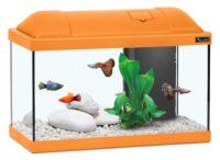 أكوا أتلانتس حوض الأسماك للاطفال لون برتقالي