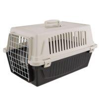 فيربلاست قفص لحمل الحيوانات – رمادي أسود 37 *58 * 32 سم