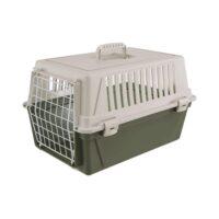 فيربلاست قفص لحمل الحيوانات – أخضر أبيض 32.5 * 48 * 29 سم