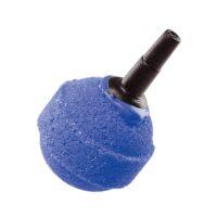 فيربلاست حجر فقاعات لاحواض السمك على شكل كرة 2.3 * 4 سم لون ازرق