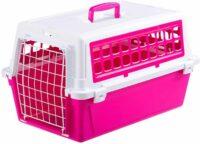فيربلاست قفص متنقل لحمل القطط والكلاب لون وردي 37 * 58 * 32 سم