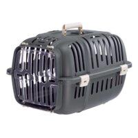 فيربلاست قفص جيت لحمل الحيوانات – أسود رمادي 32* 47* 29 سم