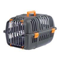 Ferplast Jet Cage Pet Carrier – Black Orange 32 * 47 * 29cm