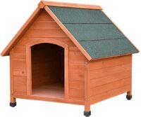 فلامنجو بيت خشبي للكلاب